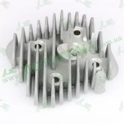 Головка цилиндра 80cc 47mm Honda DIO AF-18, AF-27, AF-28, TACT AF-24, AF-30