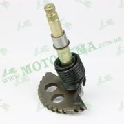 Полумесяц кикстартера (заводной сектор) 144mm-GY6 152QMI 157QMJ (125/150сс)