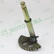 Полумесяц кикстартера (заводной сектор) L-146mm (+втулка) GY6 125-150cc