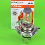 Лампа фары галогеновая OSRAM H4 (HS1) 12V 35W-35W (PX43t  64185)
