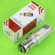 Лампа фары диодная BA20D 12V 35/35W 2 кристалла