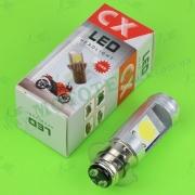 Лампа фары диодная P15D-25-3 12V 35/35W (3 уса, 2 кристалла)