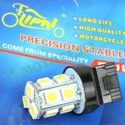 Лампа стопа диодная 13 кристалов T20 12V 21W-5W безцокольная (blasting flash) 'LIPAI'