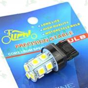 Лампа стопа диодная 13 кристалов T20 12V 21W-5W безцокольная 'LIPAI'
