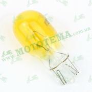Лампа поворотов ЖЕЛТАЯ (безцокольная)12V 10W
