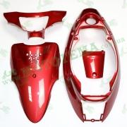 Комплект пластика  YAMAHA BJ SA-24 (крашенный красный)