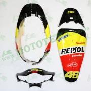 Комплект пластика  HONDA DIO AF 56 (разноцветный)