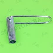 Ключ свечной Ø16mm 4T