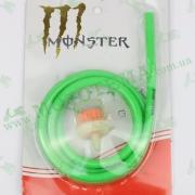 Шланг топливный 4mm, 1 метр, с фильтром (зелёный) 'MONSTER ENERGY'