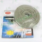 Шланг топливный 4mm, 20 метров (резиновый, серый, цена за 1 метр)