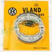 Колодки тормозные (барабан) Suzuki ADDRESS (AD50, AD100) `VLAND` ТАЙВАНЬ