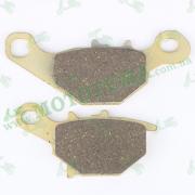 """Колодки тормозные (диск)   Suzuki AD110   (желтые)   """"YONGLI PRO"""""""