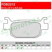 Колодки тормозные FERODO FDB2212 EF ECO-Friction