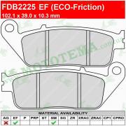 Колодки тормозные FERODO FDB2225 EF ECO-Friction