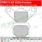 Колодки тормозные FERODO FDB313 EF ECO-Friction