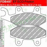 Колодки тормозные FERODO FDB497 EF ECO-Friction