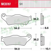 Колодки тормозные TRW LUCAS MCB707