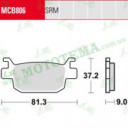 Колодки тормозные TRW LUCAS MCB806 SRM Sinter