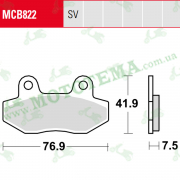Колодки тормозные TRW LUCAS MCB822