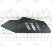 Накладка глушителя металлическая (черная) --  TOSSA (ISSEN)