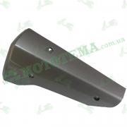 Накладка глушителя задняя серебро, пластик GEON TOSSA (ISSEN)