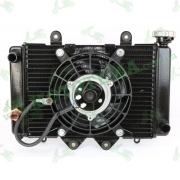 Радиатор в комплекте с вентилятором -- TOSSA (ISSEN)