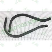 Кронштейны крепления двухточечной защиты рук, алюминиевые (2 шт/к-т) -- X-Road
