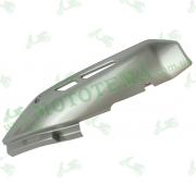 Накладка (термозащита) глушителя  --  X-Road 200