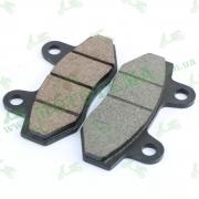 Колодки тормозные передние к-т  --  X-PIT