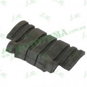 Резинка упорная топливного бака задняя -- DAKAR 450
