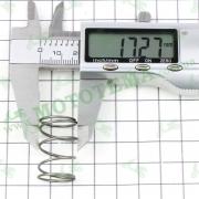 Пружина маслянного фильтра -- X-ROAD 250 CBB