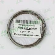 Кольца поршневые комплект -- X-PIT 125 cc