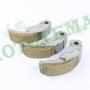 Колодки заднего вариатора (муфта) Honda SH150