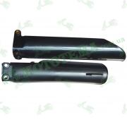 Накладки (вилки) амортизаторов передних, пластик на KAYO T2, KAYO K2, оригинал