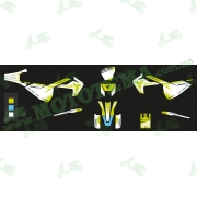 Наклейки на пластик (комплект) KOVI 250 4T LITE