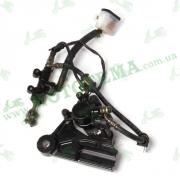 Гидравлика заднего тормоза (в сборе) Lifan LF150-10В