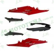 Пластик боковой задний (пара) Lifan LF150-10S
