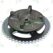 Демпфер заднего колеса со звездой (428*48) Lifan LF150-10S