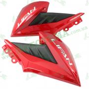 Пластик бака боковой передний (пара) Lifan LF150-2E