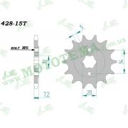 Звезда ведущая (428*15) Lifan LF150-2Е