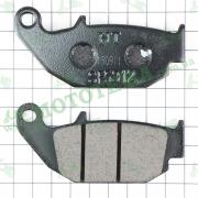 Колодки тормозные (задние) Lifan LF150-10B, LF200-10B KP (Irokez) / LF150-10S, LF200-10S KPR
