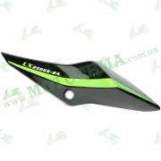 Крышка задняя левая (боковая панель) пластик Loncin LX250GS-2A GP250 342040188-0053