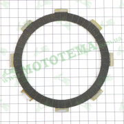 Диск сцепления, активная фрикционная пластина 1шт. 166FMM RE250 Loncin LX250GY-3 SX2 190430001-0001