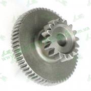 Двойная шестерня стартера 166FMM RE250 Loncin LX250GY-3 SX2 193190039-0001
