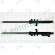 Амортизаторы передние (перья вилки) Loncin JL150-68A CR1 L-310450507-0002 / R-310460462-0002