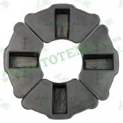 Демпферные резинки заднего колеса Loncin JL150-68A CR1 290310008-0001