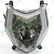 Фара передняя (цоколь HS1) Loncin JL200-68A CR1S 280350838-0001