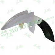 Крыло переднее белое, пластик Loncin JL200-68A CR1S 340310667-0003