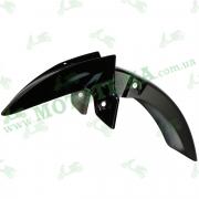 Крыло переднее чёрное, пластик Loncin JL200-68A CR1S 340310667-0014