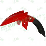Крыло переднее красное, пластик Loncin JL200-68A CR1S 340310667-0017
